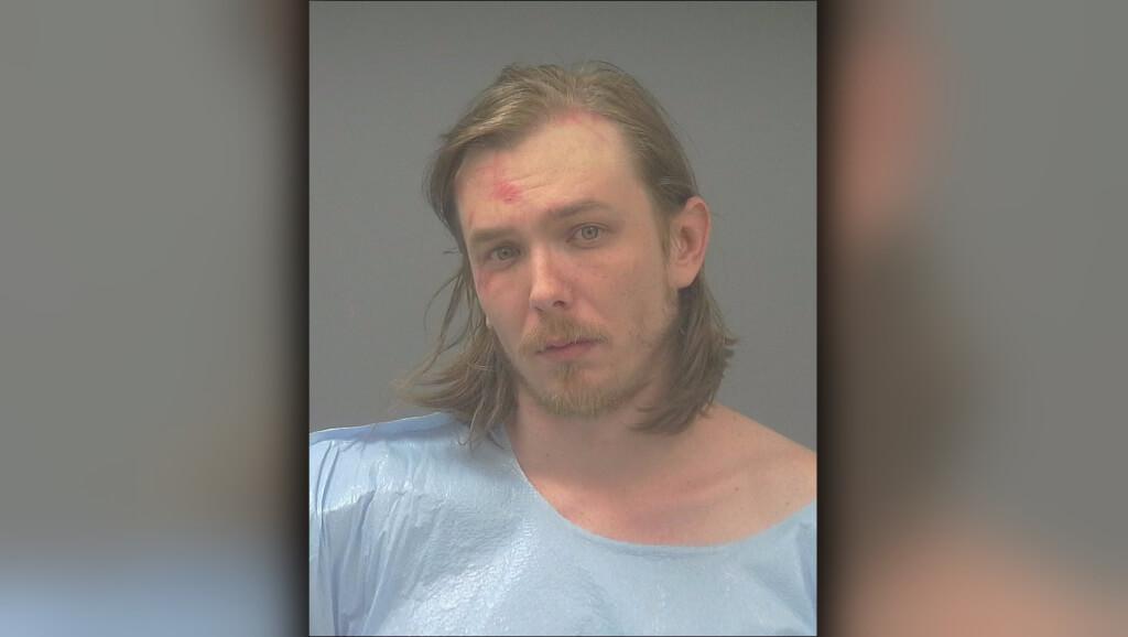 A Florida man threatened his neighbor with a machete