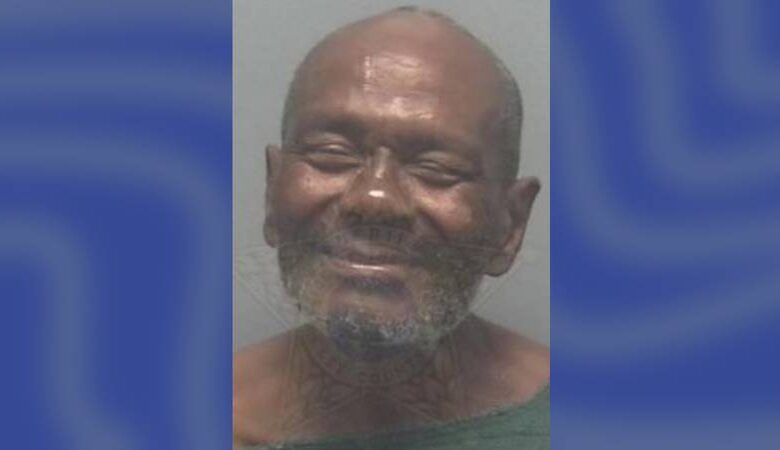 """A Florida man nicknamed """"Babycakes"""" was caught naked outside his apartment."""