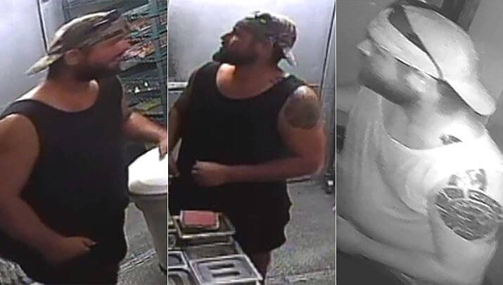 A Florida man who made grilled hamburgers then robbed Wendys