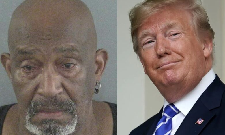 A drunk Florida man found to have been involved in a golf cart accident claims he had to drink because of President Trump's statements