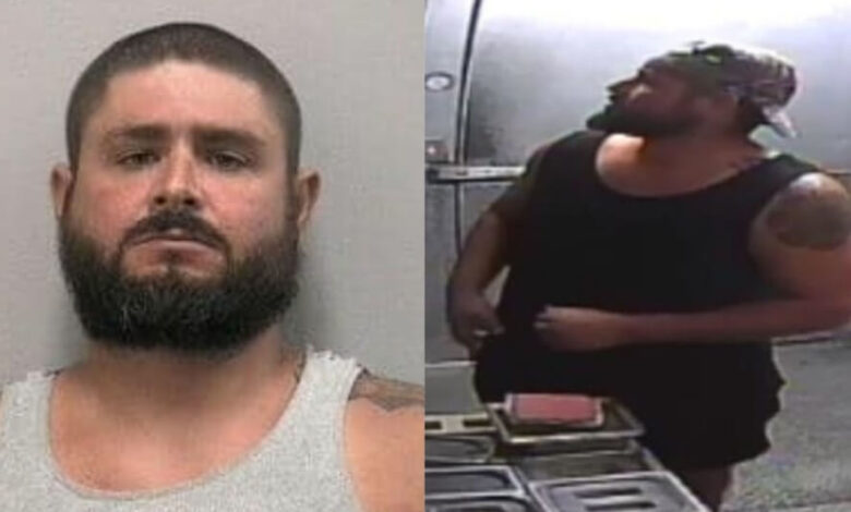 A Florida man walked into a restaurant. He was arrested after making himself a hamburger at the restaurant