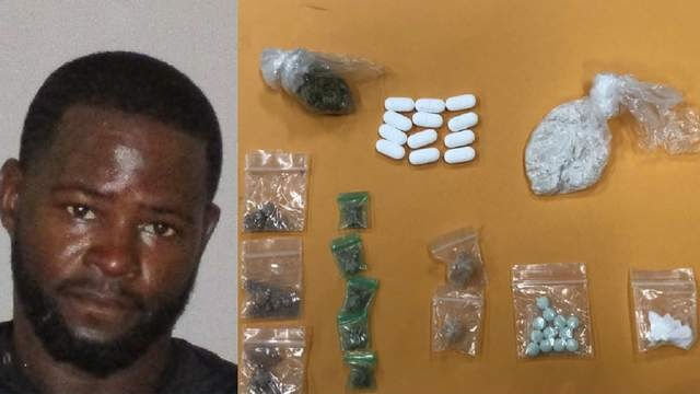 A Florida man was caught by authorities hiding heroin in his hip