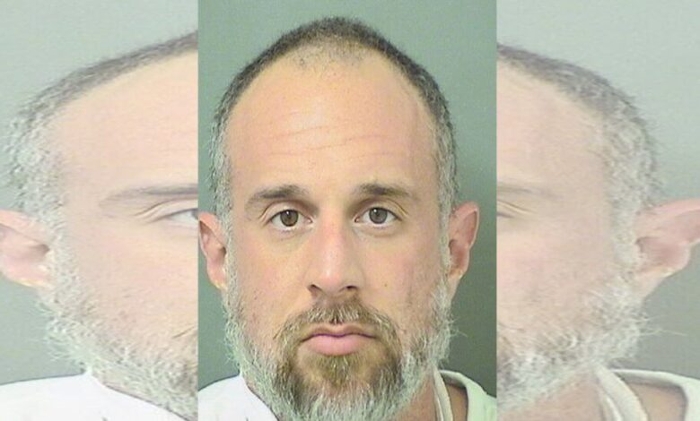A man who directed his urine test to the drug lab was charged