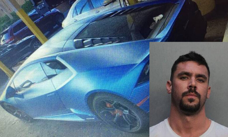 Allegedly, a Florida man bought a Lamborghini using COVID-Relief Funds
