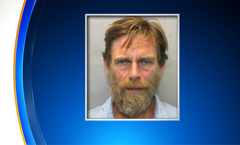 With the cops after him, the Florida man was chased from Miami to the Uppers Keys