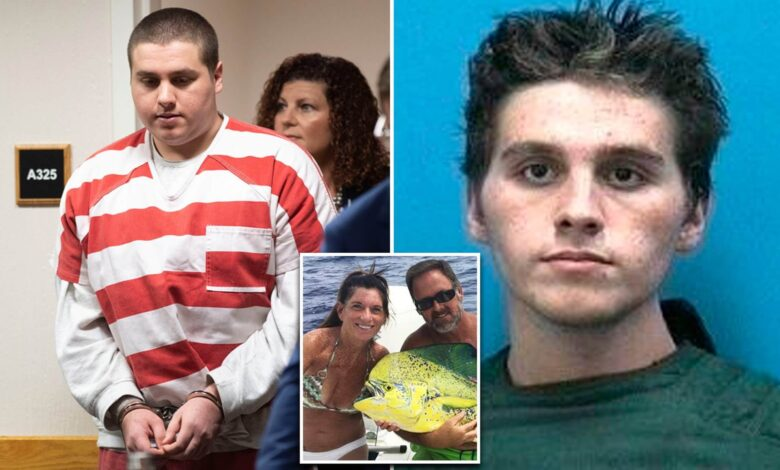 A Florida man suspected of killing a couple caught while biting the victim's face