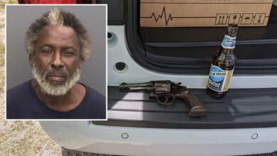 Florida man arrested after threatening people with beer in one hand and gun in the other